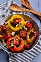 paprika's en tomaten foto