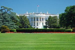 het witte huis in washington dc foto