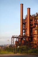 historisch gasfabriekspark, Lake Union, Seattle foto