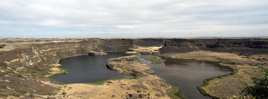 dry falls, coulee city, staat washington