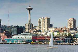 Seattle waterkant foto