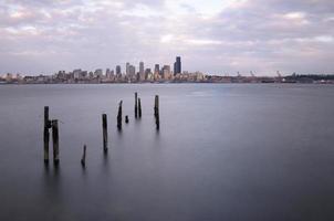 Seattle vanuit het westen foto