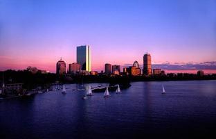 skyline van Boston
