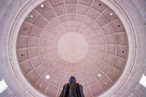 binnenste van Jefferson Memorial foto