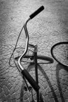 vintage fiets foto