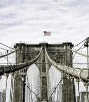 brooklyn bridge in new york city, Verenigde Staten