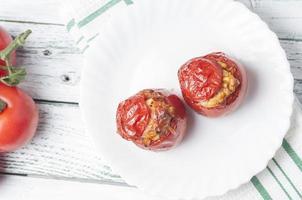 gevulde tomaten serie 05 foto