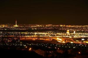 las vegas stadsgezicht foto