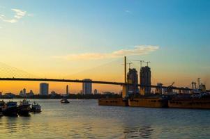 zonsopgang in Bangkok foto