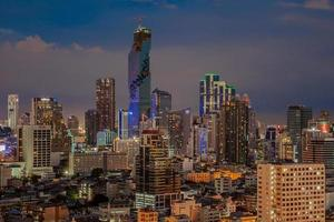stad van bangkok foto