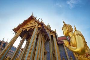 tempel in bangkok - thailand foto