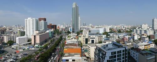 Cityscape van Bangkok de stad van Bangkok van Thailand foto