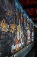 muurschildering in het grote paleis foto