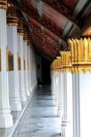 kolommen van groot paleis foto