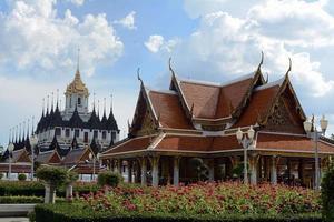 Thaise tempel, Bangkok foto