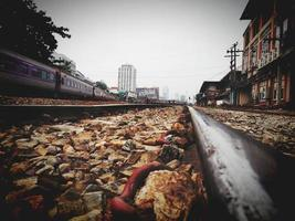 Thailand spoorweg foto