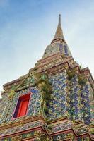 wat pho in bangkok foto
