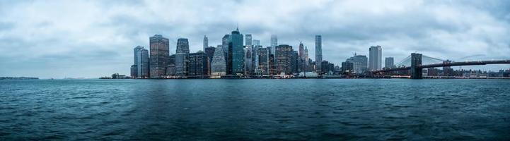 panorama van New York foto