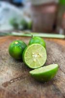 groene citroen foto