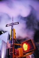 Manhattan Street New York City, Verenigde Staten foto