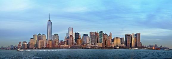 lager Manhattan panorama foto