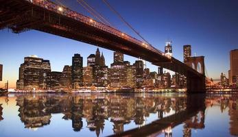 brooklyn bridge nyc foto