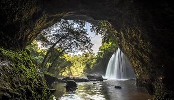 het nationale park van khaoyai in Thailand foto