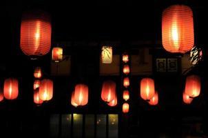Chinese lantaarns foto