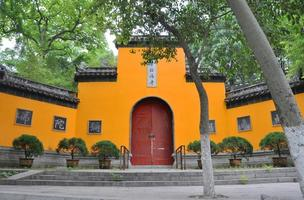 jiming temple, nanjing, china foto