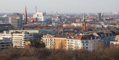 Berlijn Duitsland van bovenaf foto