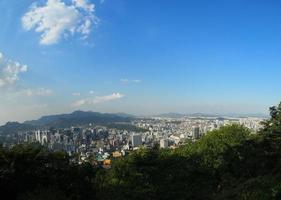 Seoul stadsgezicht foto