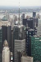 luchtfoto van Manhattan foto