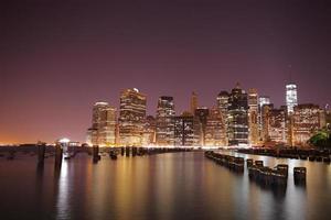 Manhattan. New York. Verenigde Staten foto