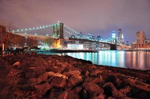 New york city brooklyn bridge foto