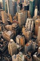 luchtfoto van new york city foto