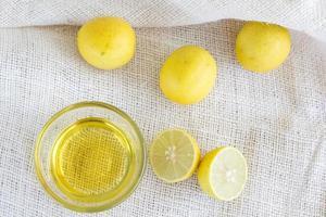 citroen limoen & honing foto