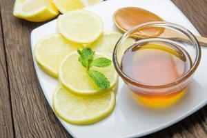 honing en citroen foto