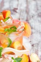 perzik limonade achtergrond foto