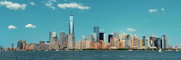 Manhattan skyline van het centrum foto