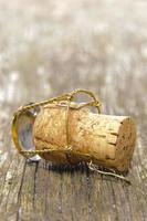 champagne kurk foto