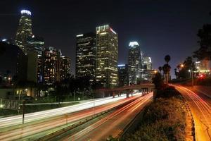 het centrum van Los Angeles foto