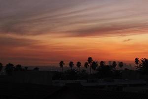 los angeles bij zonsondergang