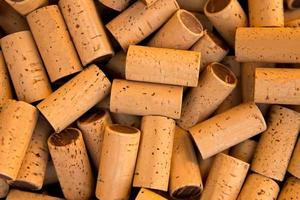 wijnfles kurken patroon textuur foto