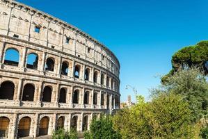 colosseum in rome in rome, Italië foto