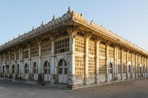 sarkhej roza-moskee in ahmedabad, gujarat foto