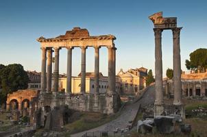 oude Romeinse forum, rome foto