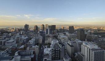 zakenwijk van Kaapstad foto