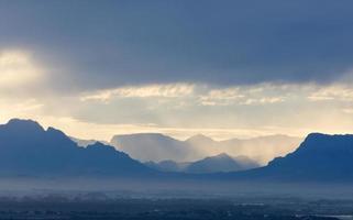 Kaapstad vroeg in de ochtend