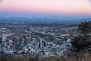 Kaapstad - stad en havengebied foto
