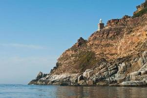 Cape Point Lighthouse, Zuid-Afrika foto
